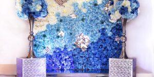 Цветочная стена